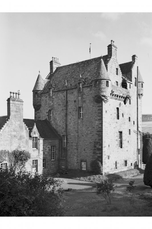 Castle Leod. View of South West elevation