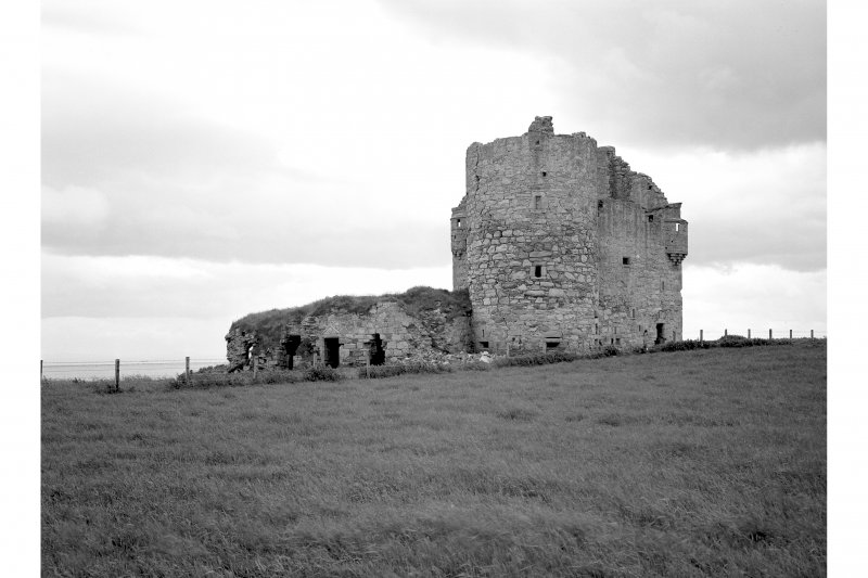 Ballone Castle. View from North East.