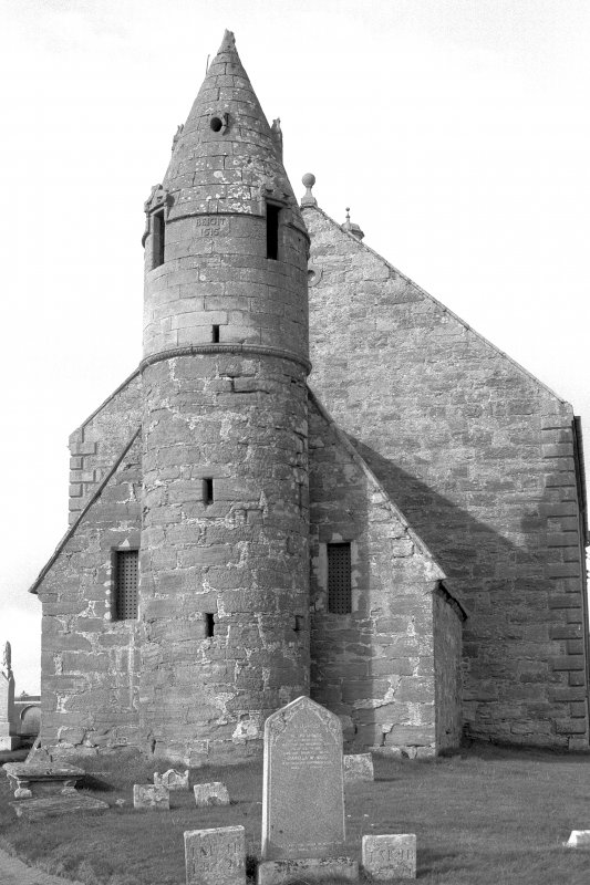 Detail of tower