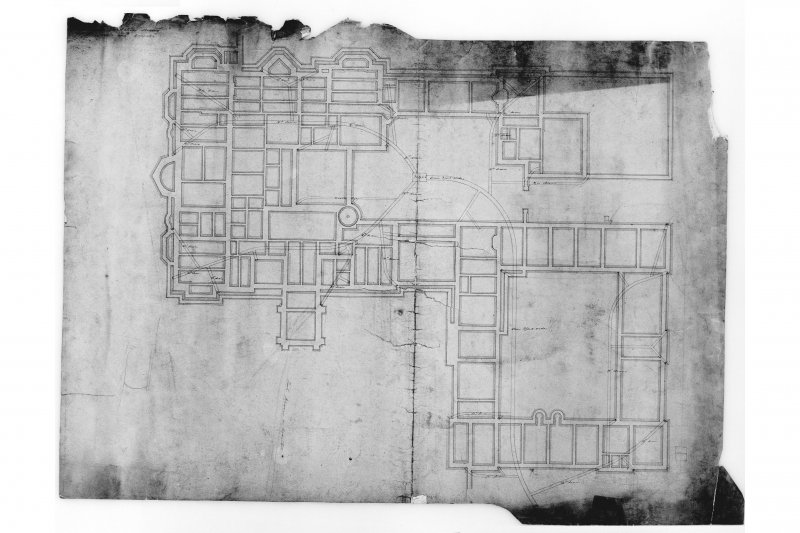 Plan of foundations.