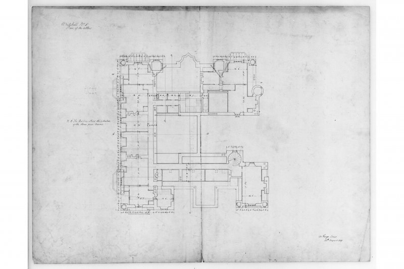 Plan of attics.