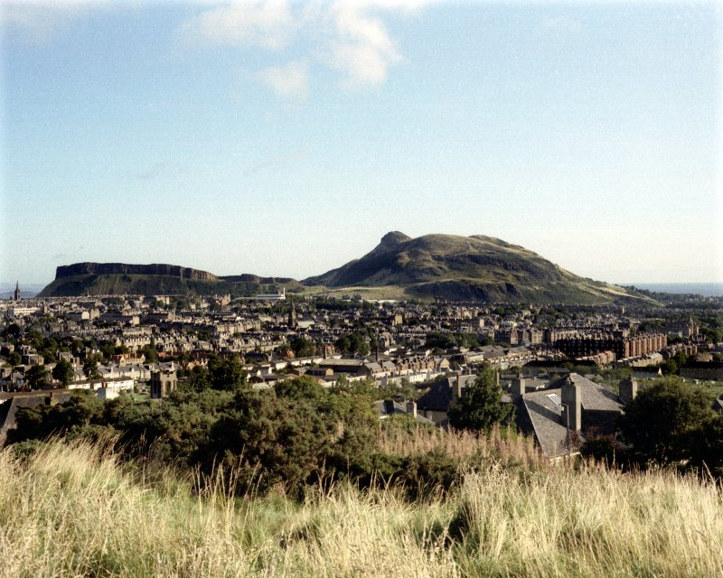 General view of Arthur's Seat.