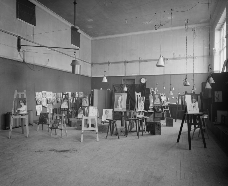 View of studio.
