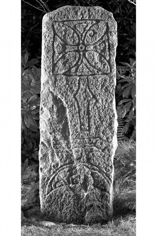 Raasay House, Raasay. Pictish cross-slab.