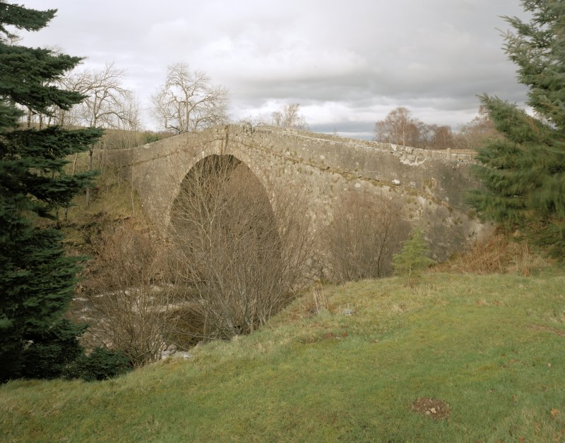 White Bridge, Old Bridge. General view from south west.