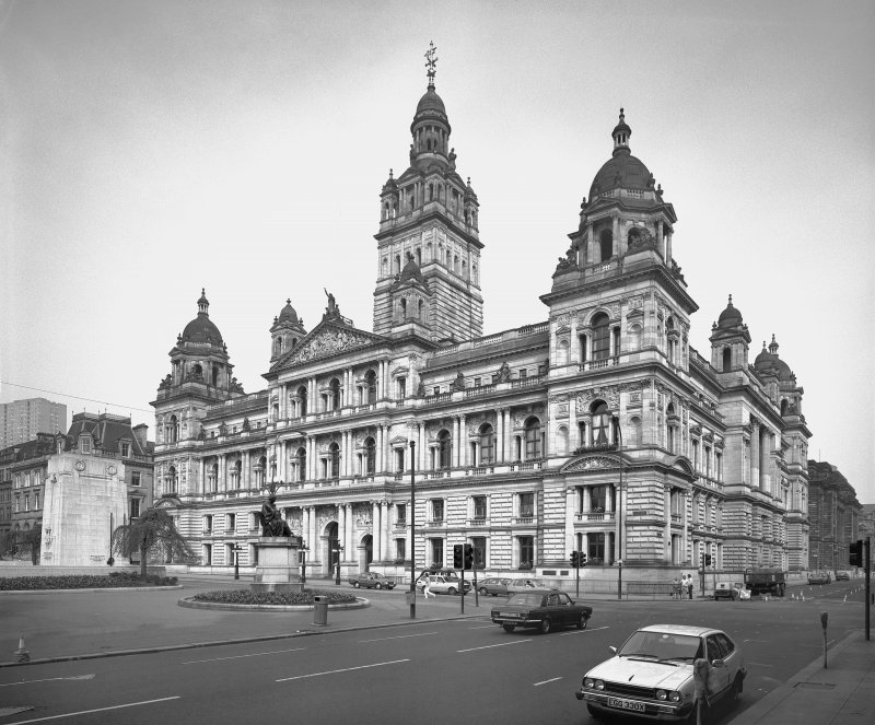 Glasgow City Chambers View from South West