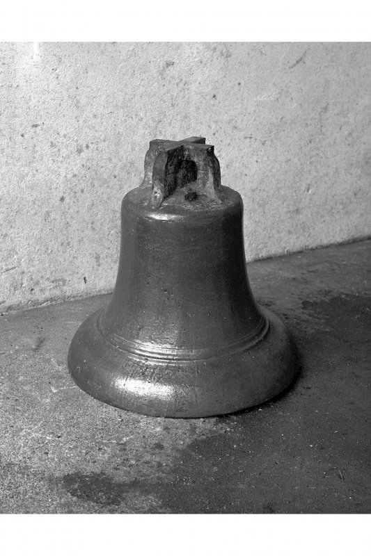 Lagavulin Distillery. View of Bell from former Lagavulin Church.