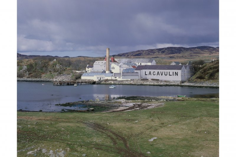 View of Lagavulin Distillery from South East.