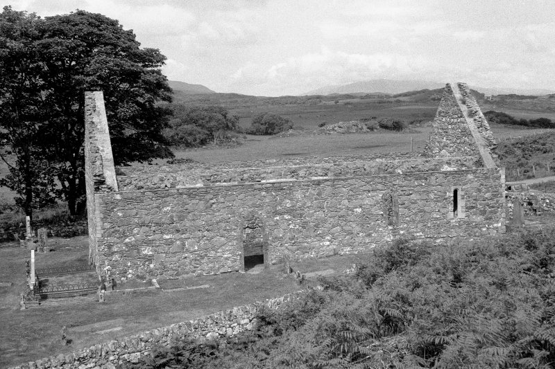 Kildalton Chapel General view of roofless church