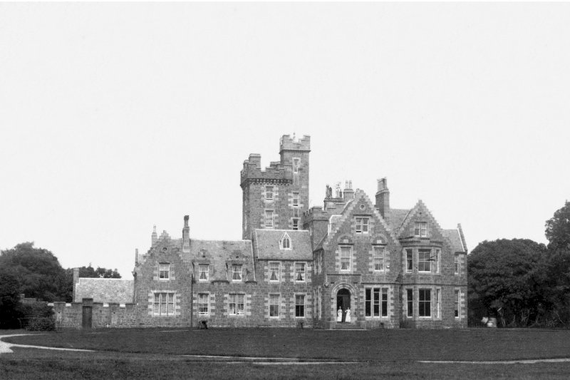 Kildalton House. General view from East.