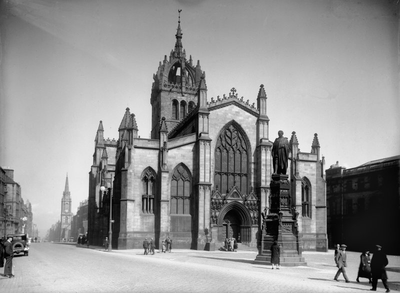 General view of St Giles' Cathedral from North West