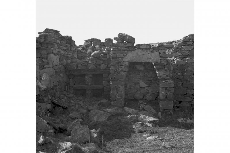 Lurabrus Township. Building D, aumbry and fireplace in North East wall.