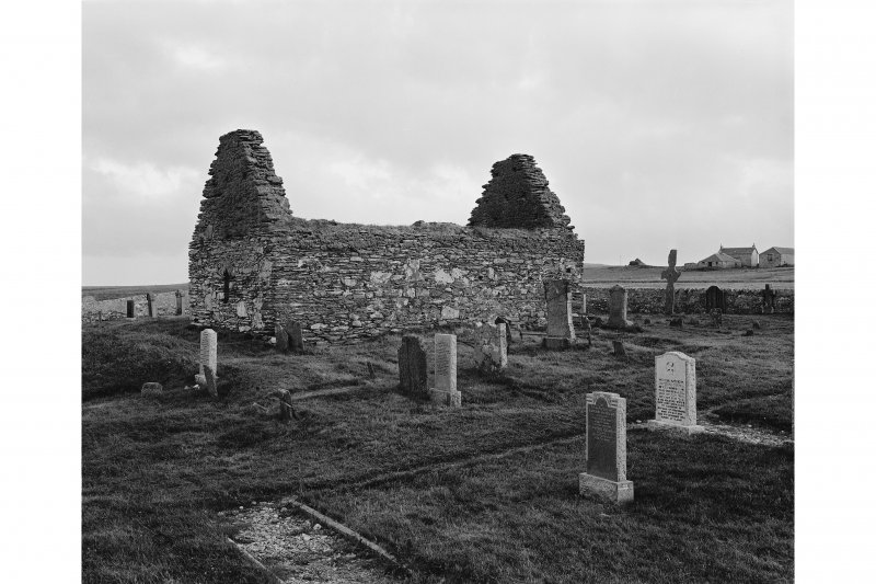 Kilnave Chapel, Kilnave. View from North East.