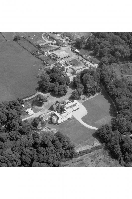 Islay House, Islay. Aerial view from North West.