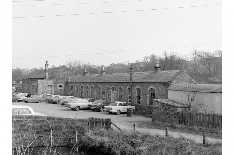 Penicuik Goods Station View from W