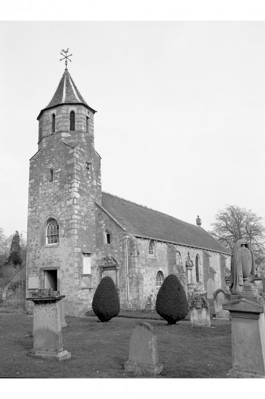 Pencaitland Parish Church View from SW
