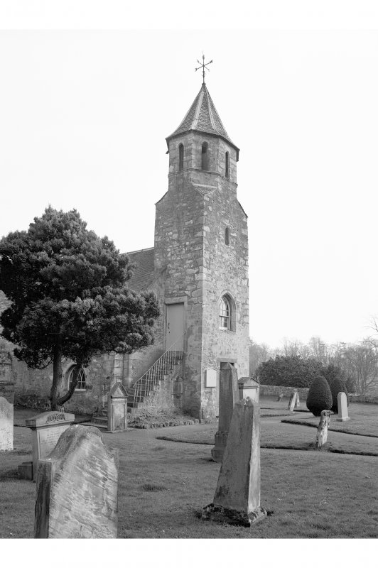Pencaitland Parish Church View from NW