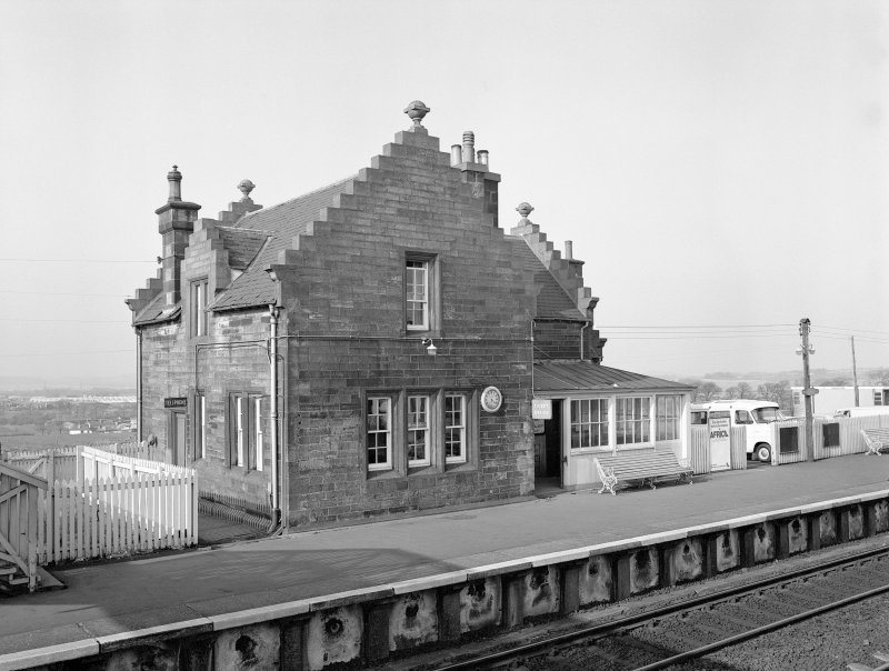 Midcalder Station, Station House View from S