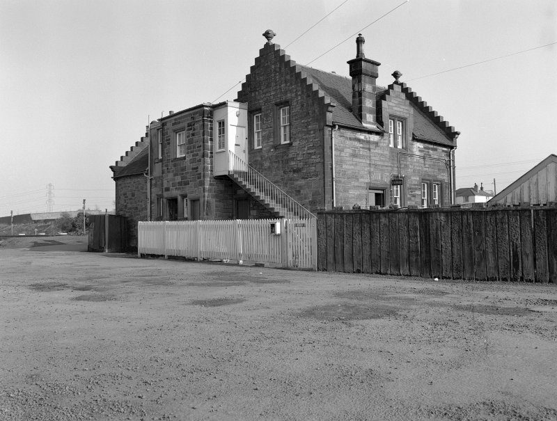 Midcalder Station, Station House View from NW