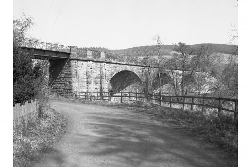 Lyne Viaduct View from SW