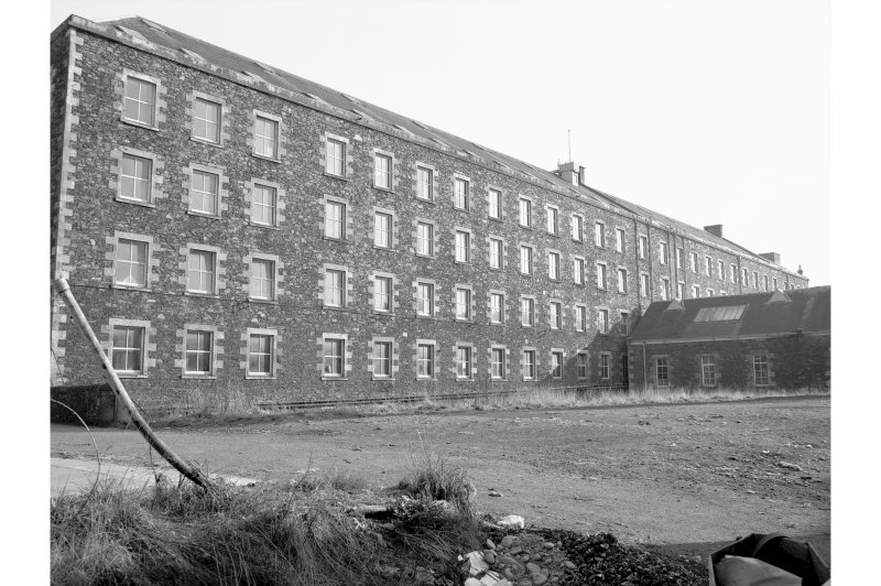 Ettrick Mill, main block View from NNW
