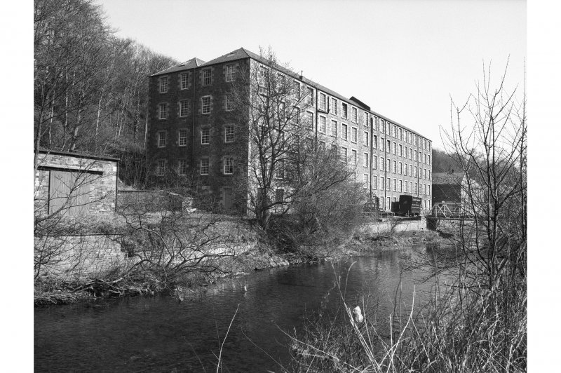 Galashiels, Buckholm Mill View from NW