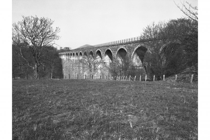 Leaderfoot Viaduct View from SSW