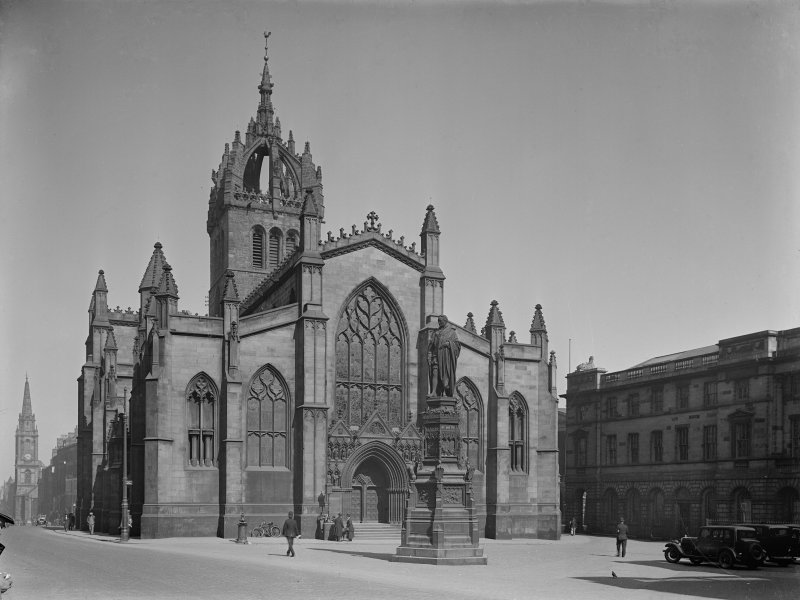 General view of St Giles Cathderal from North West