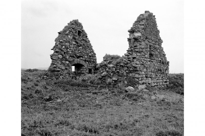 Finlaggan Castle, Islay. View of building C (provisional).