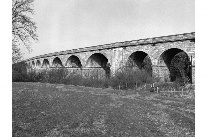 Roxburgh, Railway Viaduct View from SE