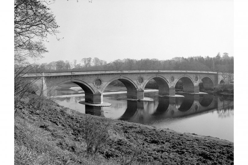Coldstream Bridge View from ESE