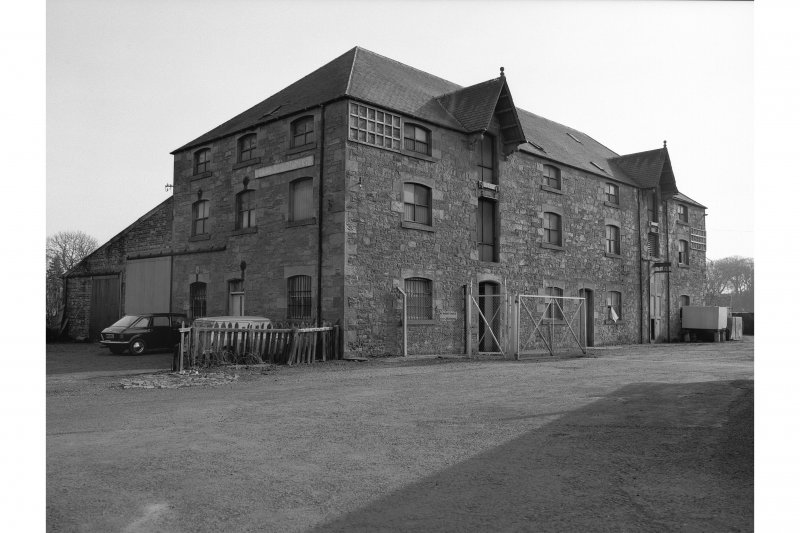 Newton St Boswells, Station, warehouse General view