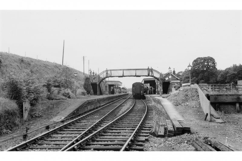 Abernethy Road, Station General view looking West