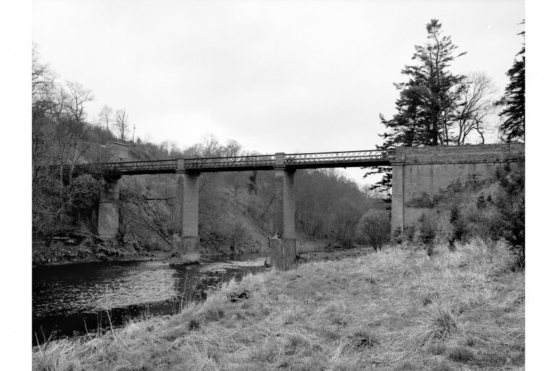 Hutton Bridge General view from N