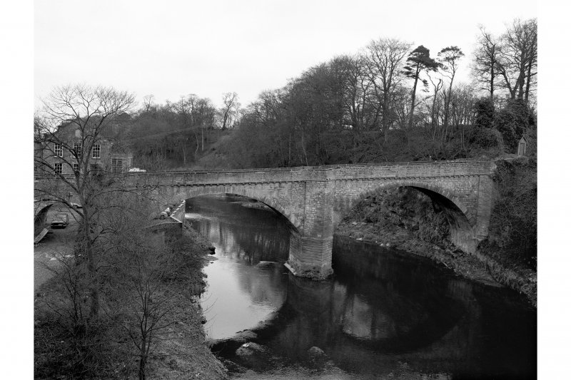 Chirnside Bridge View of span of bridge from SSW