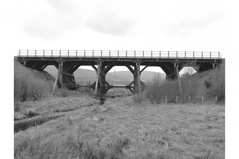 Moy, Aultnaslanach Viaduct View from SW