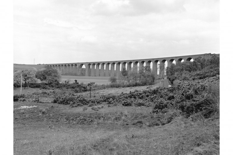 Clava, Nairn Viaduct over River Nairn General view from SW
