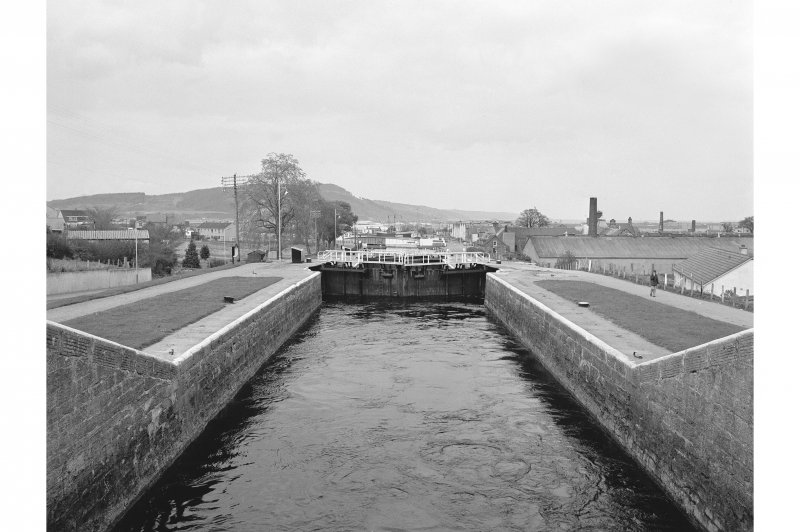 Inverness, Muirtown Locks General view from SW