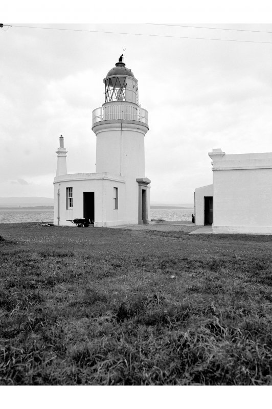 Chanonry Point, Lighthouse View from N