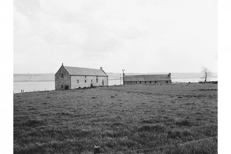 Foulis Point, Granary General view of W facing elevation