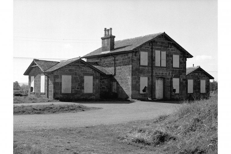 Kildary, Appitauld, Station View of station frontage from N