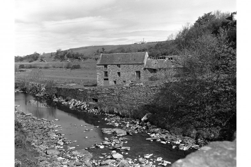 Dunbeath, Mill General view from SE