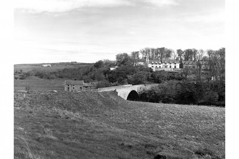 Dunbeath, Mill and Bridge General view from S