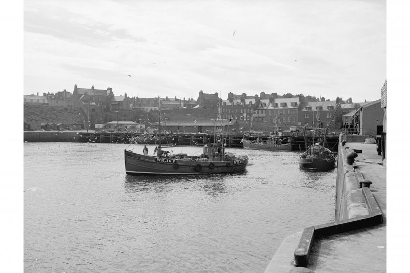 Wick, Lower Pulteneytown, Lower Harbour General view of Lower Harbour, looking inland