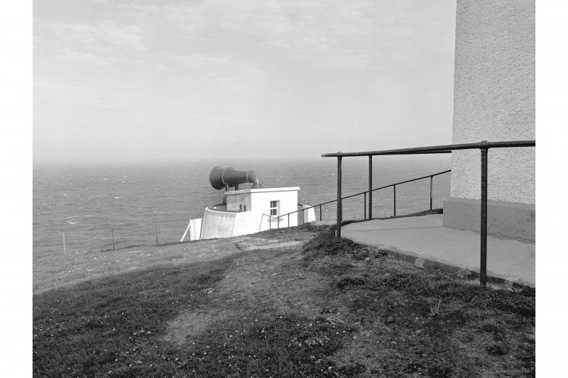Duncansby Head Lighthouse View showing foghorn
