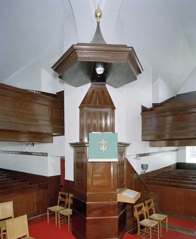 View of pulpit from north west, St Mary's Church, Lauder