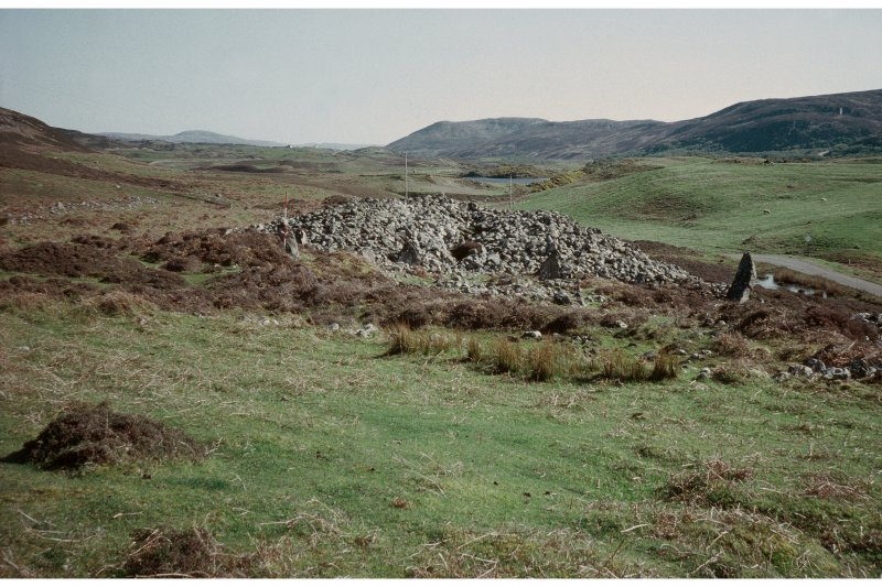 View of chambered cairn