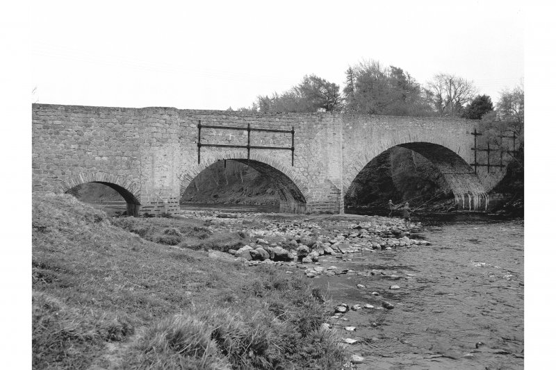 Old Spey Bridge General view from NE