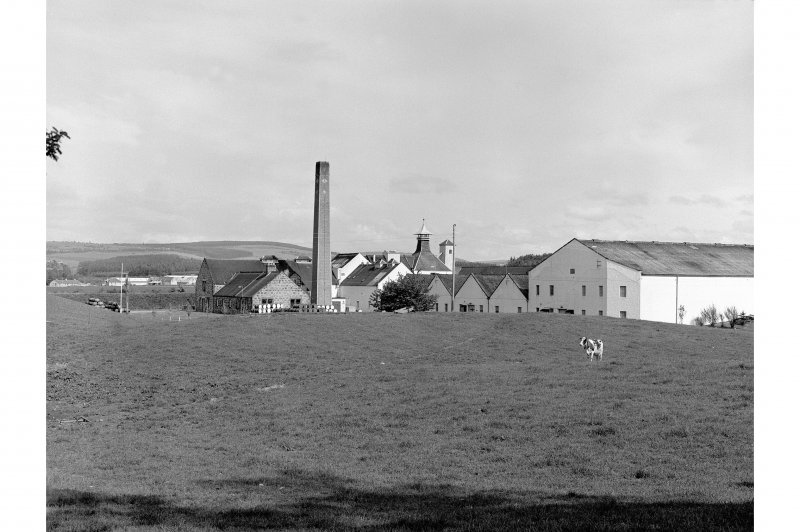Dallas Dhu Distillery General view from NW