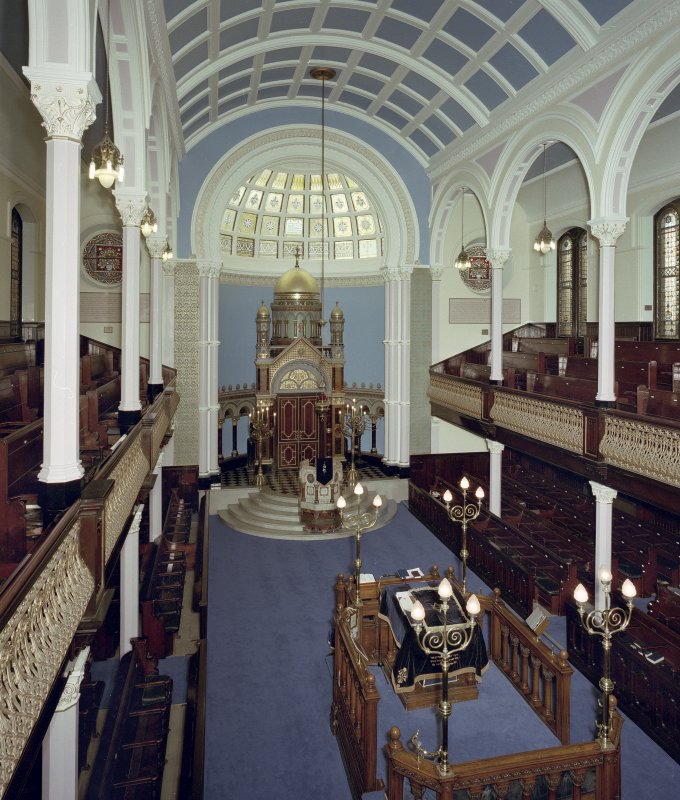 Scan of D 54568/CN. Garnethill Synagogue.